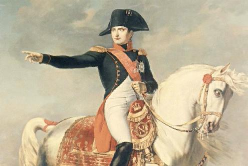 Napoleon Directing Troops