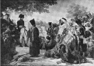 Napoleon Pardoning the Rebels at Cairo by Pierre Narcisse Guerin