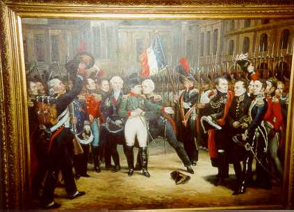 Napoleon's Farewell to the Old Guard